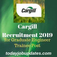 Cargill Recruitment 2019