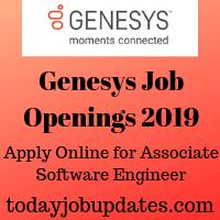 Genesys Job Openings 2019