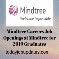 Mindtree Careers Job Openings at Mindtree for 2019 Graduates