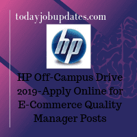 HP Off-Campus Drive 2019