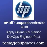 HP Off-Campus Recruitment 2019