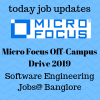 Micro Focus Drive 2019