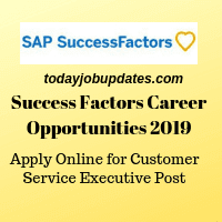 Success Factors Career Opportunities 2019