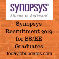 Synopsys Recruitment 2019