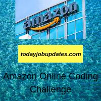 Amazon Online Coding Challenge