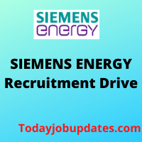 siemens energy Recruitment Drive