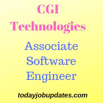 CGI Hiring Associate software engineer-PMO july 2019-