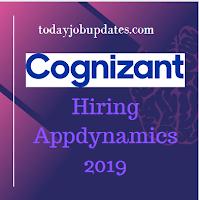 Cognizant Hiring For App dynamics For B.E/B.Tech July-2019