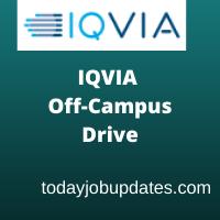 IQVIA Off Campus Recruitment Drive