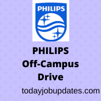 Philips Off-Campus Recruitment Drive