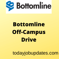 Bottomline Technologies Off-Campus Drive