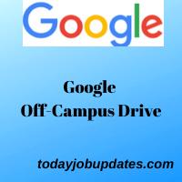 Google Off-Campus Drive