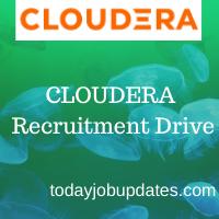 Cloudera Recruiting Drive