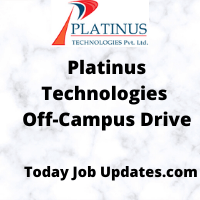 Platinus Off-Campus Recruiting Drive