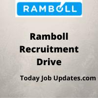 Ramboll Recruitment Drive