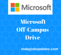 Microsoft off-campus drive