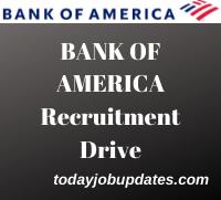 Bank Of America Recruitment Drive