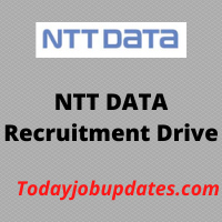 NTTDATA Recruitment Drive