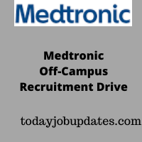 Medtronic Off-Campus Recruitment Drive