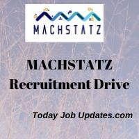 Machstatz Recruitment Drive