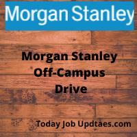 Morgan Stanley Off-Campus Recruitment