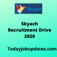 Skyach Software Solutions Recruiting drive