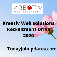 Kreativ Web Solutions Recruiting Drive