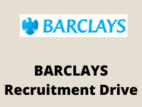 BARCLAYS Recruitment drive