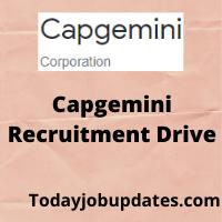 Capgemini Recruitment drive
