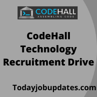 CodeHall Technology Recruitment Drive