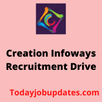 creation Infoways Recruitment Drive