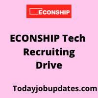 Econship Tech Recruiting Drive