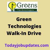Green Technologies Walkin drive