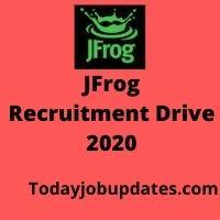 JFrog Recruiting Drive