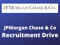 JPMorgan Chase & Co Recruitment Drive