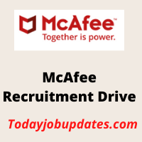 McAfee Recruitment Drive