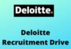 Deloitte Recruitment drive