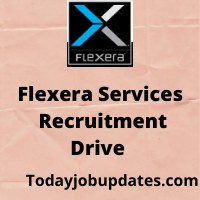 Flexera Recruitment drive for freshers