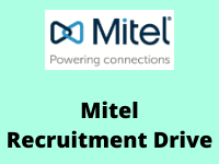 mitel Recruitment Drive