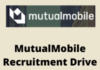 Mutual mobile Recruiting Drive