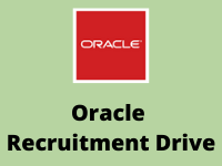Oracle Recruitment Drive