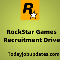rockstar games Recruitment drive
