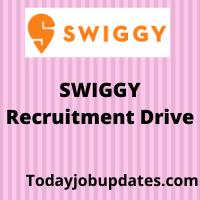 Swiggy Recruiting Freshers