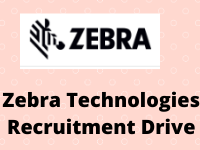 zebra Technologies Recruitment Drive