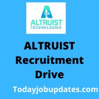 ALTRUIST Recruitment Drive