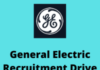 General Electric Recruitment Drive