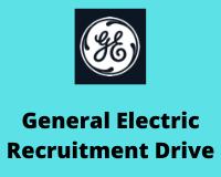 General Electric Recruitment Drive