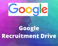 Google Recruitment Drive