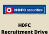 HDFC bank Recruitment Drive