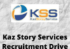 KazStory Services Recruitment drive